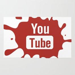 youtube youtuber - best designf or YouTube lover Rug