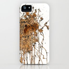 Dreaming Machine II iPhone Case