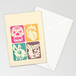 FEEDING GROUND 4 Icons Stationery Cards
