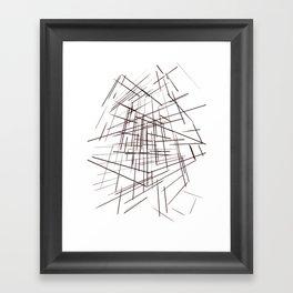 warp Framed Art Print