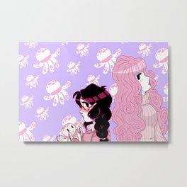 Princess Jellyfish Metal Print