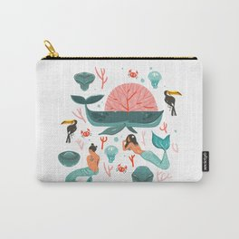 Mermaids summer Carry-All Pouch