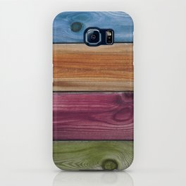 Wooden Rainbow iPhone Case