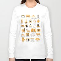 kansas city Long Sleeve T-shirts featuring I Love Kansas City by HelloKaterTot