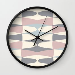 Zaha Pastel Wall Clock
