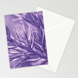 Ultra Violet Spruce Tree Pattern| Trendy color of year 2018 Stationery Cards