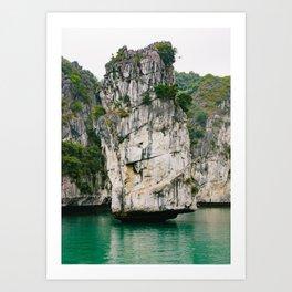 Amazing Rock Formation in Vietnam Art Print