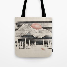 Mountain Lion at Midnight... Tote Bag