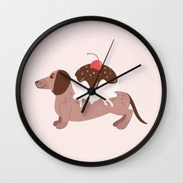 Dachshundae Wall Clock