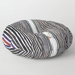 Parallel Dimensions Floor Pillow