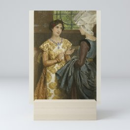 The Graphic Gallery of Shakespeare's Heroines (1896) - Queen Katharine, from Henry VIII Mini Art Print