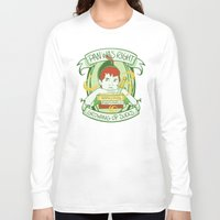 peter pan Long Sleeve T-shirts featuring Pan by Charleighkat