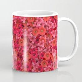 Boundary Flowers Coffee Mug