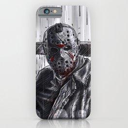 Terrible Jason iPhone Case