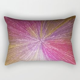 Abstract Light Explosion Rectangular Pillow