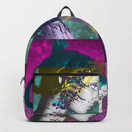 Twiggy Squared in Technicolor Backpack