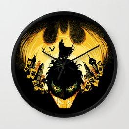 Dark Knightmare Wall Clock