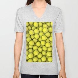 Tennis balls Unisex V-Neck