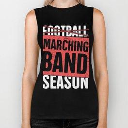 Marching Band Season Biker Tank