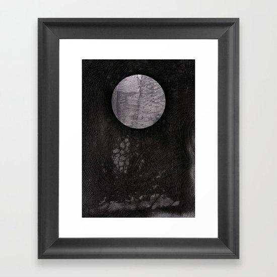 VACANCY Zine 'One Step' Framed Art Print