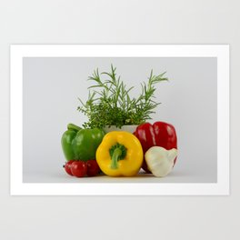 Fresh and tasty Art Print