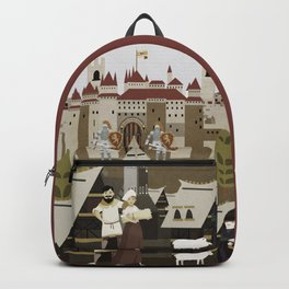 Castle and its villages Backpack
