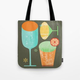 Pour & Drink Kitchen or Bar Art Tote Bag
