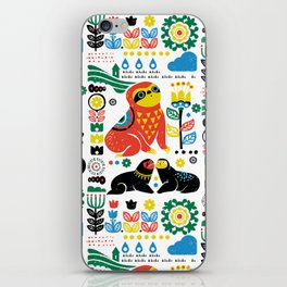 Scandinavian Sloths iPhone Skin