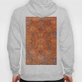 Oriental Vitange Moroccan Rug Design Hoody