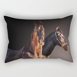 marwary horses Rectangular Pillow