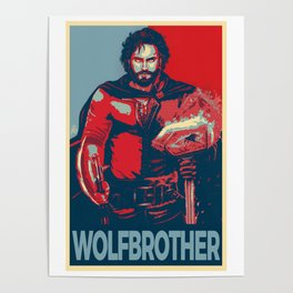 Elect the Wolfbrother Poster