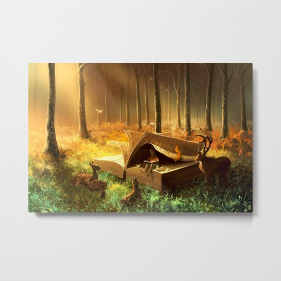 A safe place where you can go Metal Print