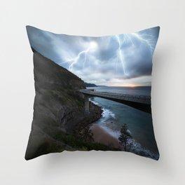 Electrify Throw Pillow