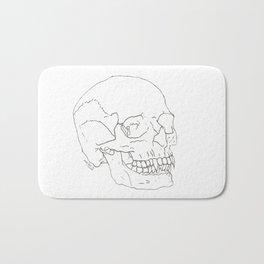 Vamp Skull Bath Mat