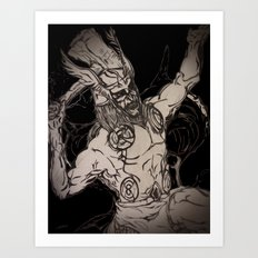 ALMIGHTY THOR Art Print