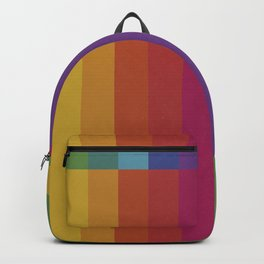 The Color Wheel / Rainbow Stripes Backpack