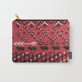 V22 Sheep herd Design Traditional Moroccan Carpet Texture. Carry-All Pouch