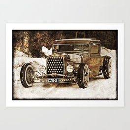 The Pixeleye - Special Edition Hot Rod Series IV Art Print