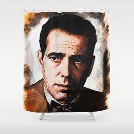Humphrey portrait Shower Curtain
