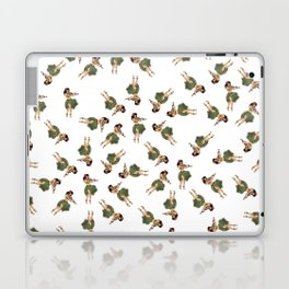 Dancing Hula Girls Pattern Laptop & iPad Skin