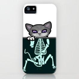 X-ray Cat iPhone Case