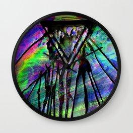 Haunted Monolith Wall Clock