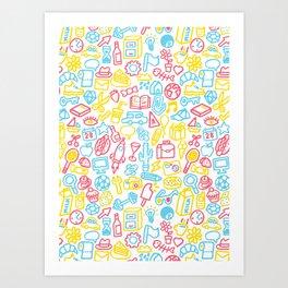 Galore Art Print