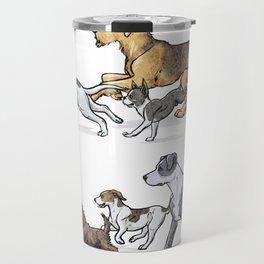 Trotting Terriers Travel Mug