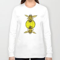 bees Long Sleeve T-shirts featuring Bees by Chelsey Hamilton