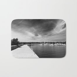 dark sky Bath Mat