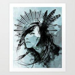 Farther Away Art Print
