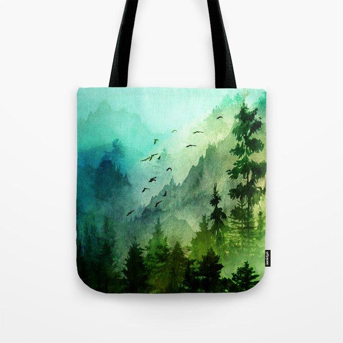Mountain Morning Tote Bag