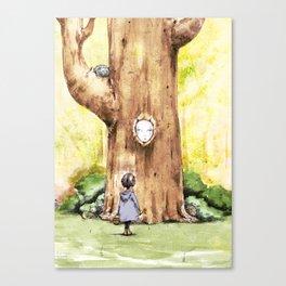 A Curious Quercus Canvas Print