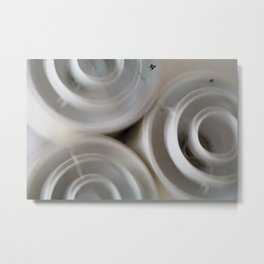 vintage blurry luminaries Metal Print